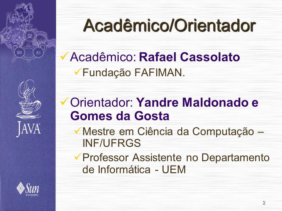 Acadêmico/Orientador