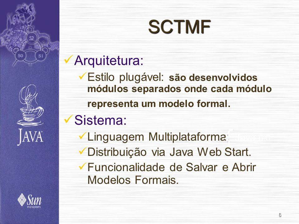 { SCTMF Arquitetura: Sistema: