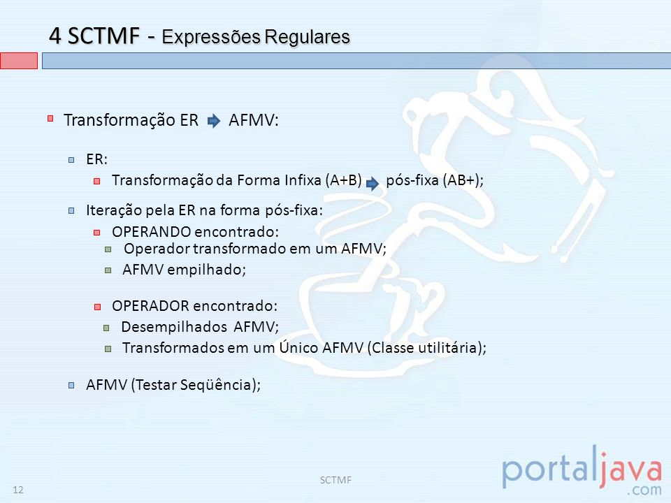 4 SCTMF - Expressões Regulares