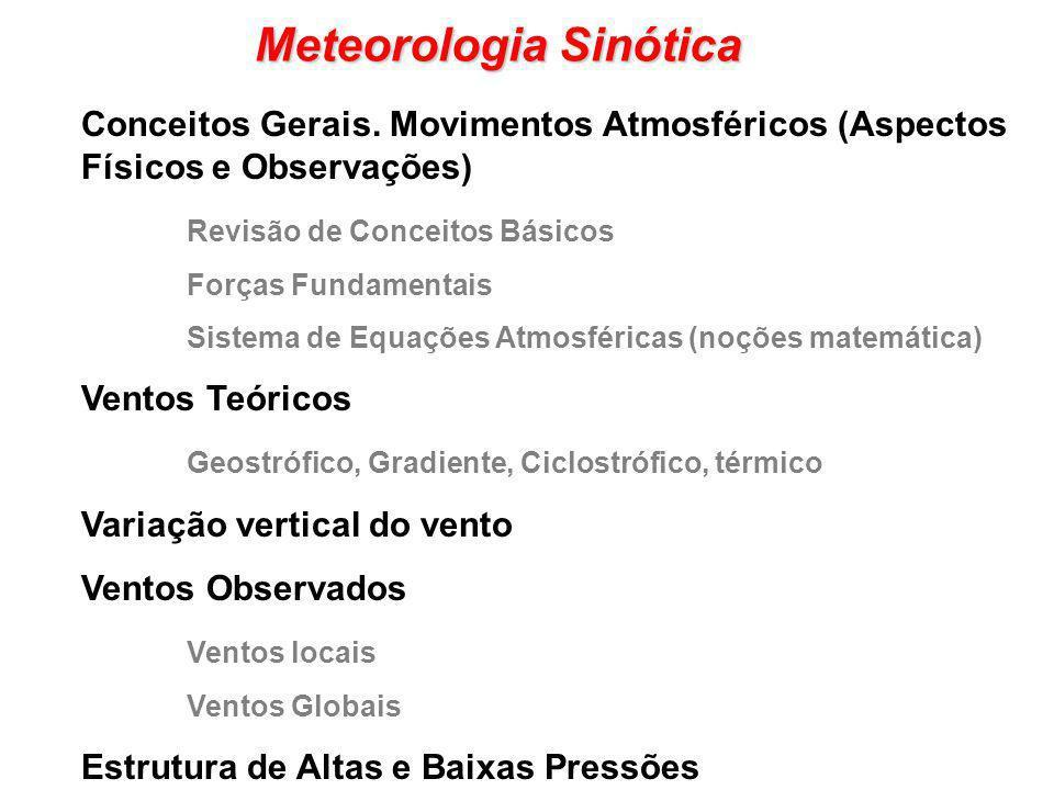 Meteorologia Sinótica