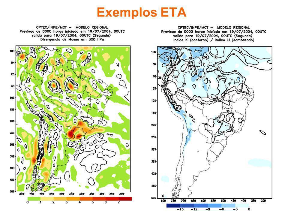 Exemplos ETA