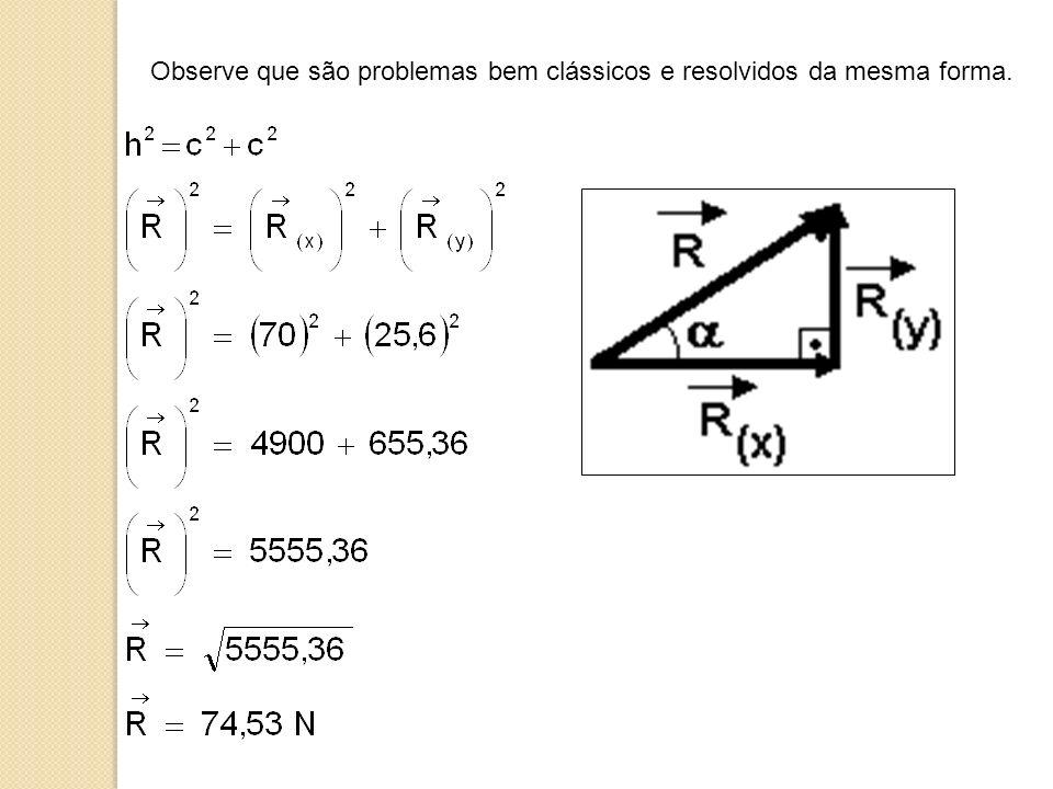 Observe que são problemas bem clássicos e resolvidos da mesma forma.