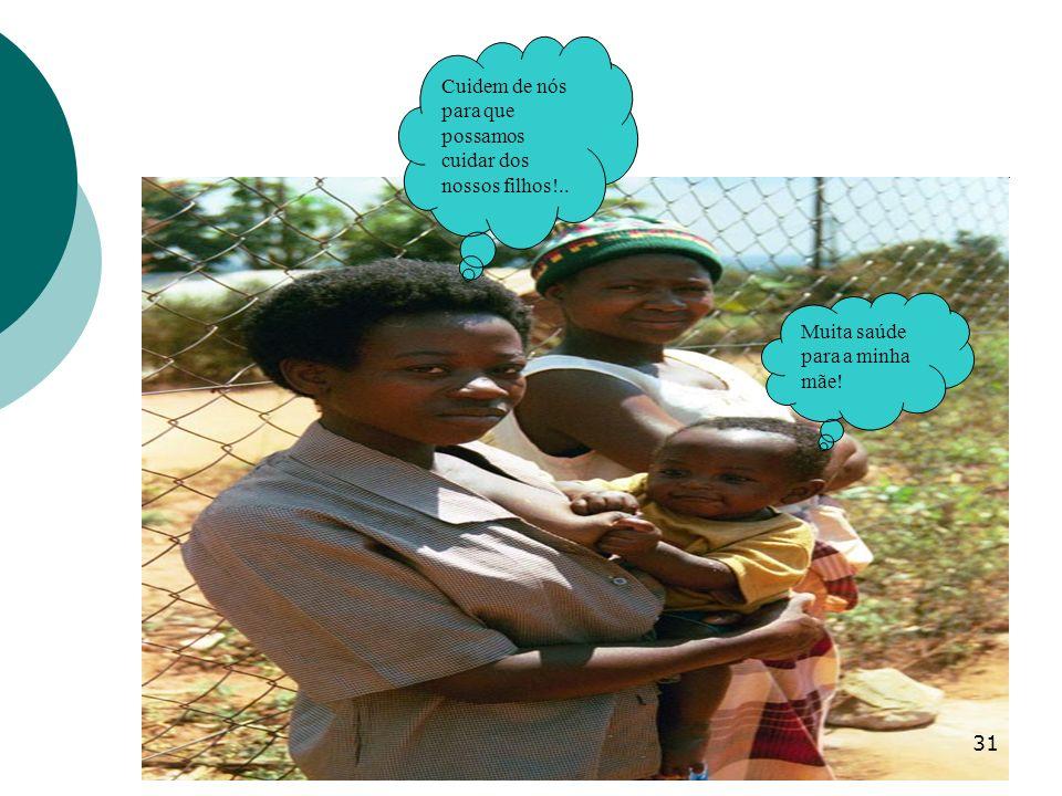 Cuidem de nós para que possamos cuidar dos nossos filhos!..