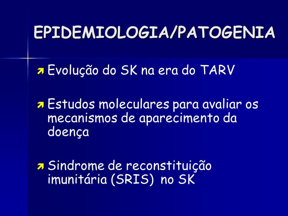 EPIDEMIOLOGIA/PATOGENIA