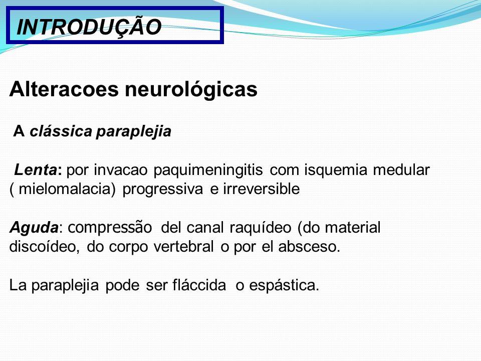 Alteracoes neurológicas