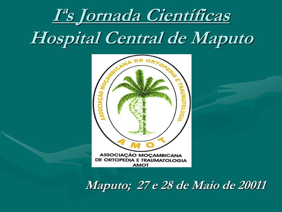 Iªs Jornada Científicas Hospital Central de Maputo