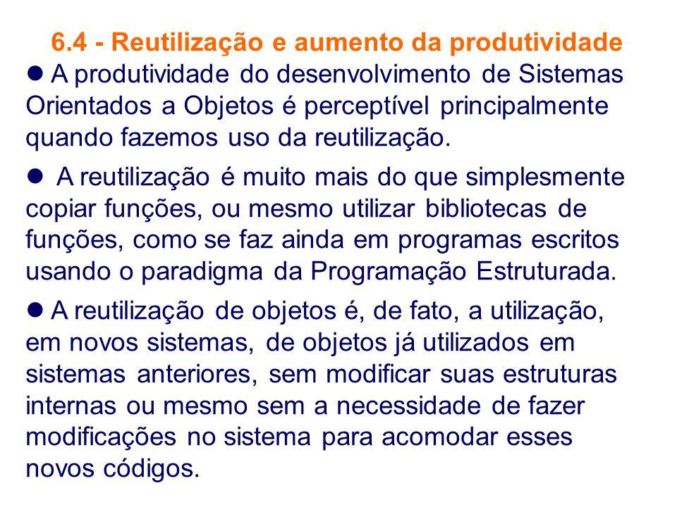 6.4 - Reutilização e aumento da produtividade