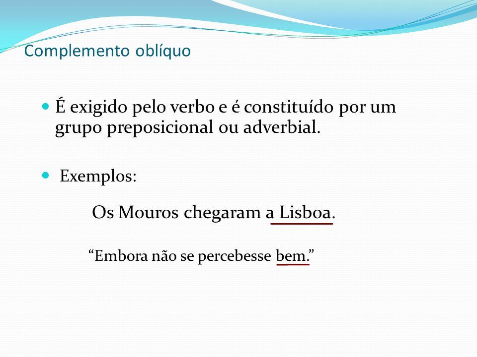 Os Mouros chegaram a Lisboa.