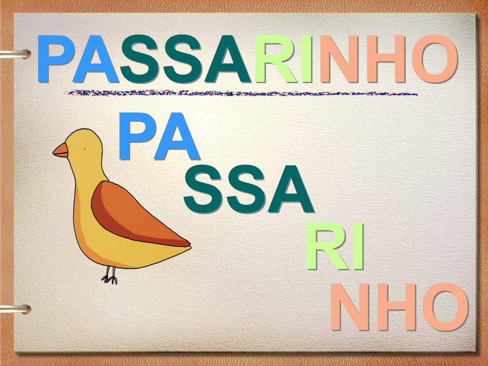 PASSARINHO PA SSA RI NHO