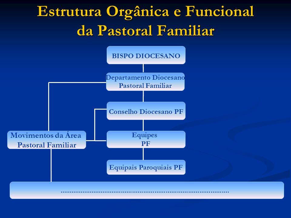 Estrutura Orgânica e Funcional da Pastoral Familiar