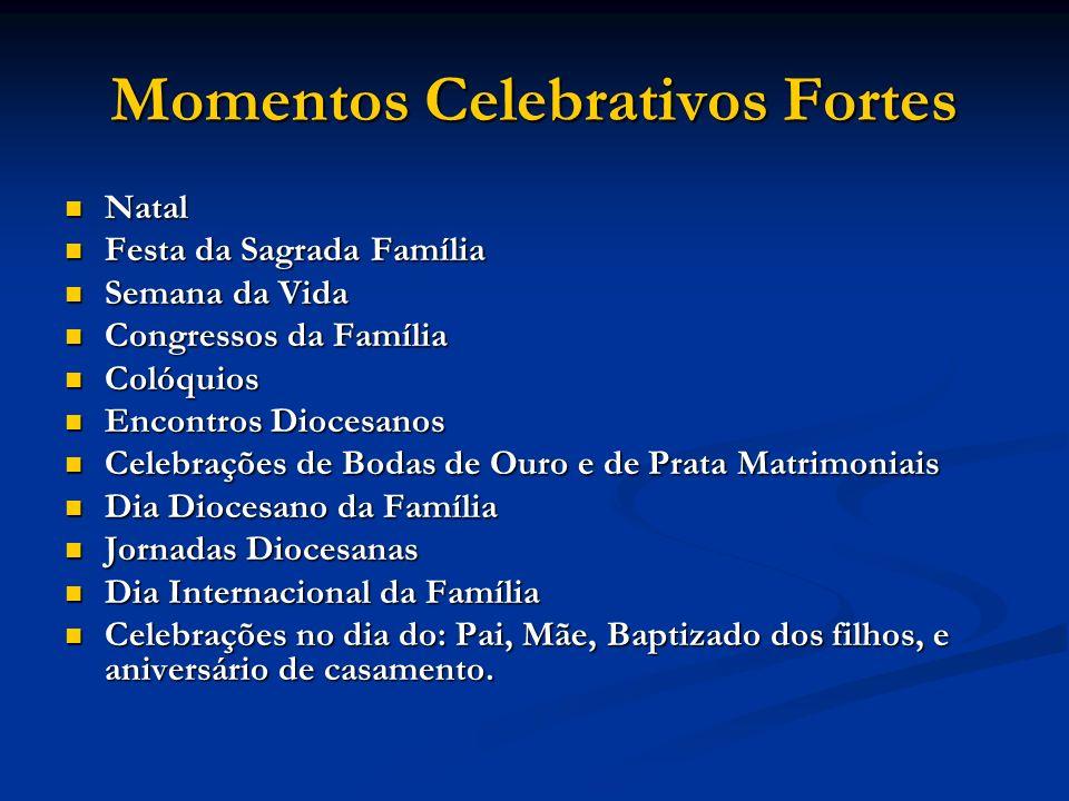 Momentos Celebrativos Fortes