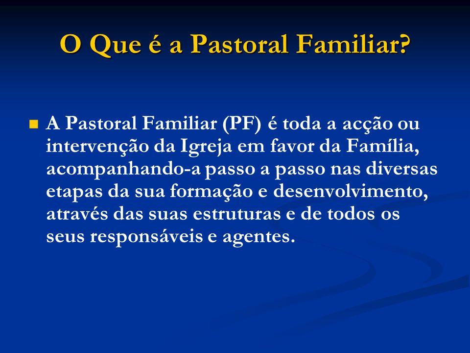O Que é a Pastoral Familiar