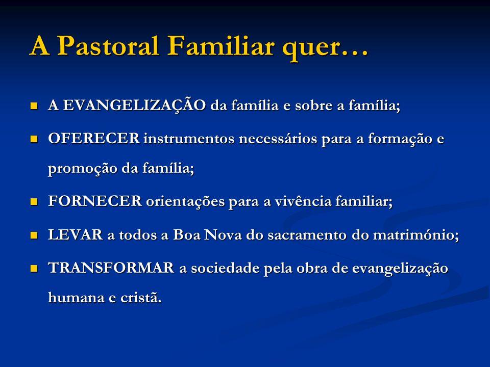 A Pastoral Familiar quer…