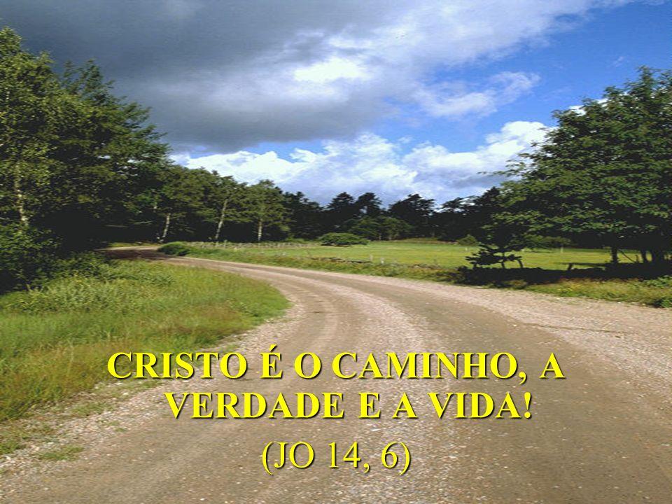 CRISTO É O CAMINHO, A VERDADE E A VIDA!