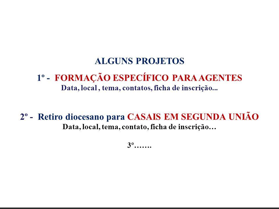 1º - FORMAÇÃO ESPECÍFICO PARA AGENTES