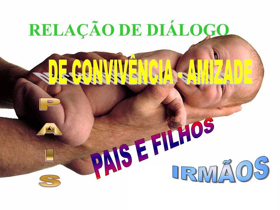 DE CONVIVÊNCIA - AMIZADE