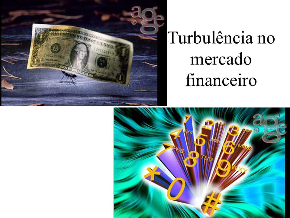 Turbulência no mercado financeiro