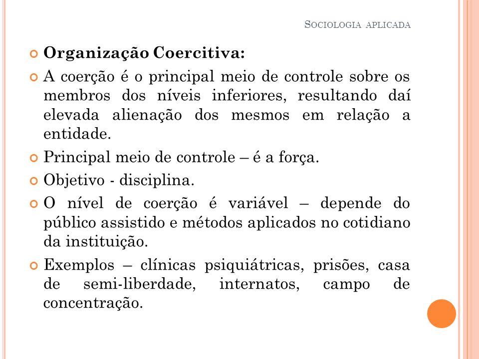 Organização Coercitiva: