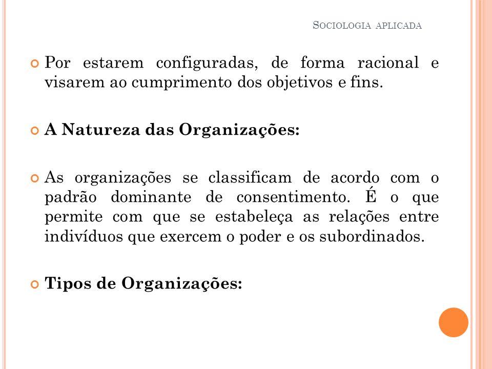 A Natureza das Organizações: