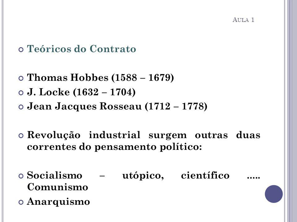 Jean Jacques Rosseau (1712 – 1778)