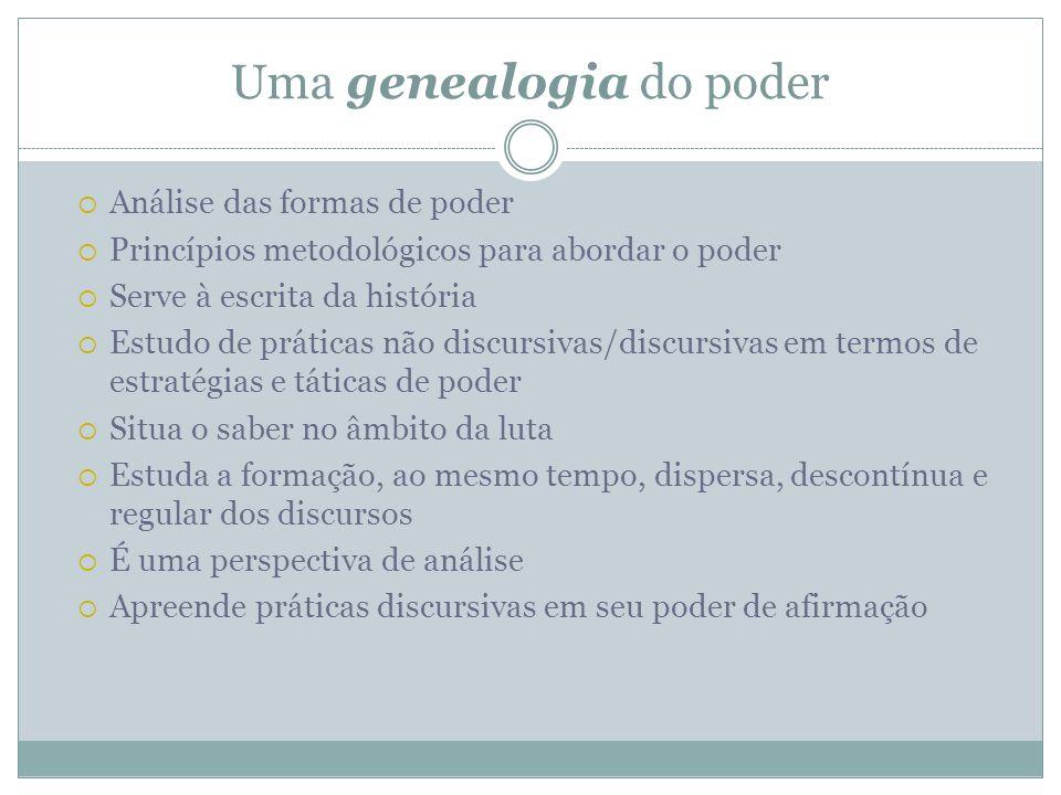 Uma genealogia do poder