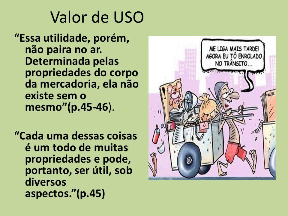 Valor de USO