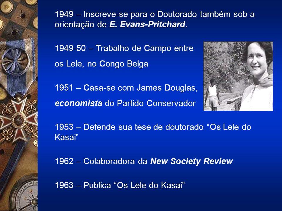 1949 – Inscreve-se para o Doutorado também sob a orientação de E