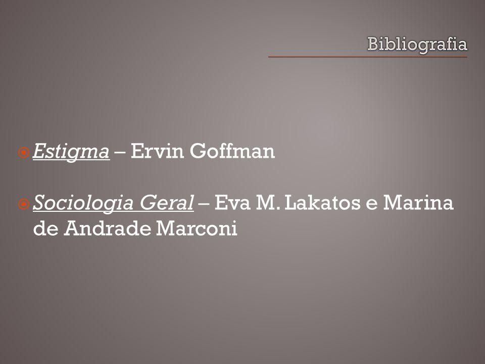 Estigma – Ervin Goffman