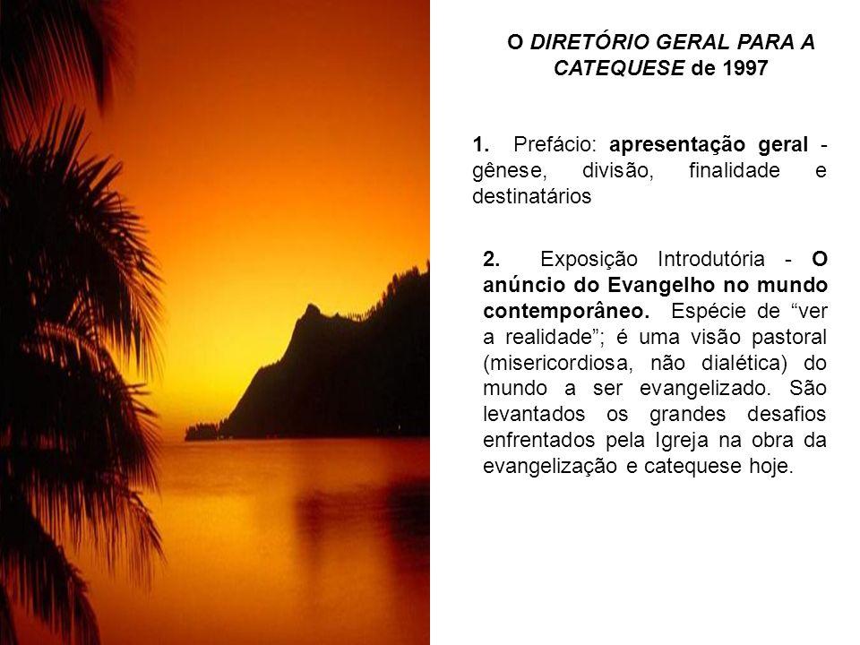 O DIRETÓRIO GERAL PARA A CATEQUESE de 1997