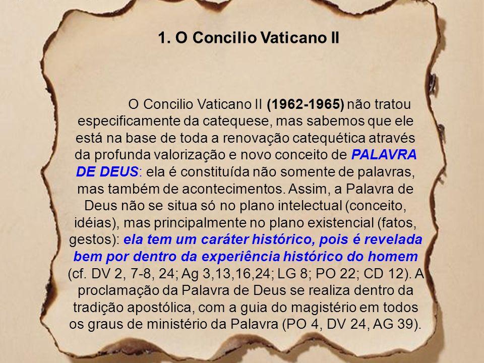 1. O Concilio Vaticano II