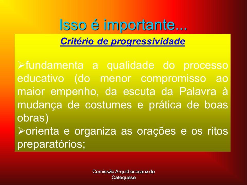 Critério de progressividade