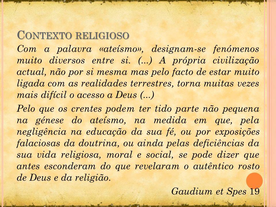 Contexto religioso
