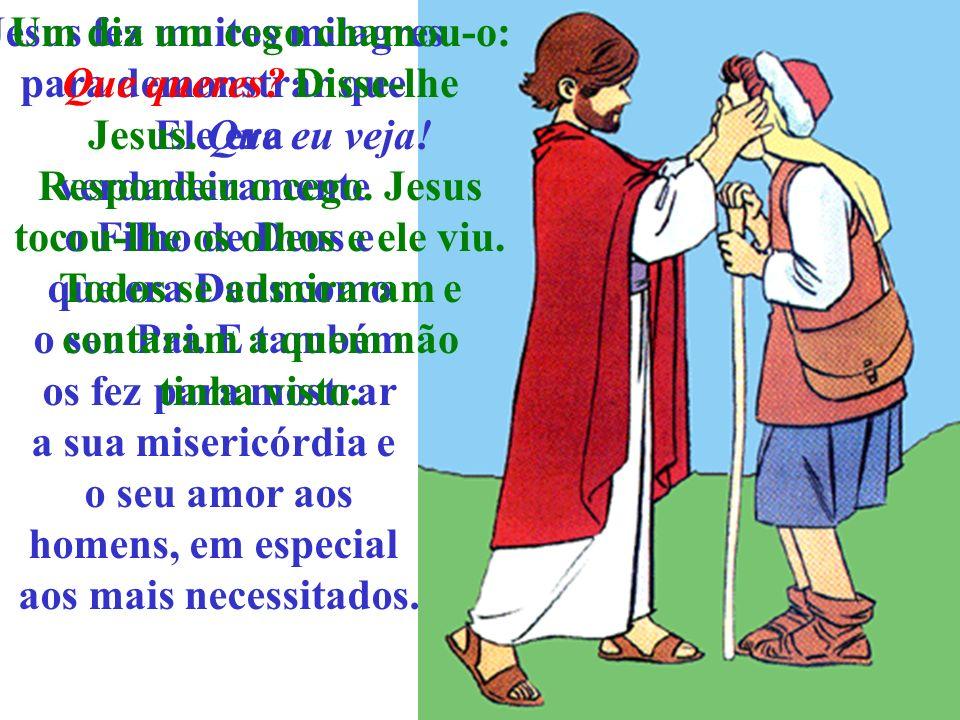 Jesus fez muitos milagres para demonstrar que Ele era verdadeiramente