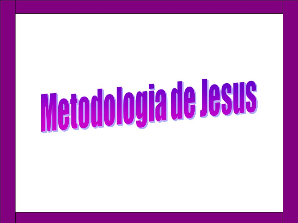 Metodologia de Jesus