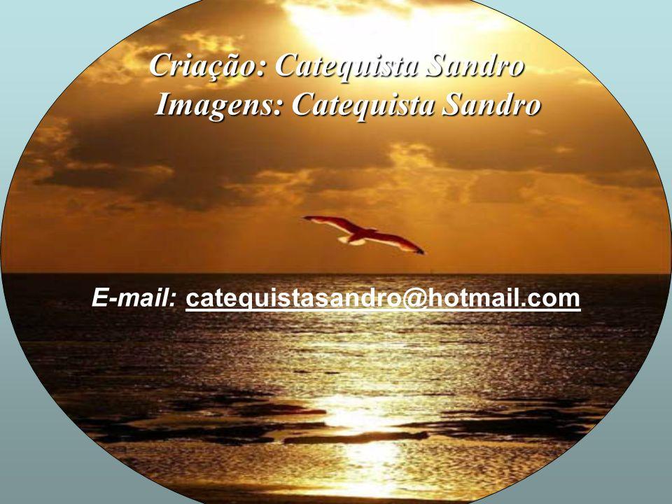 Criação: Catequista Sandro Imagens: Catequista Sandro
