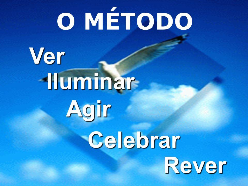 O MÉTODO Ver Iluminar Agir Celebrar Rever