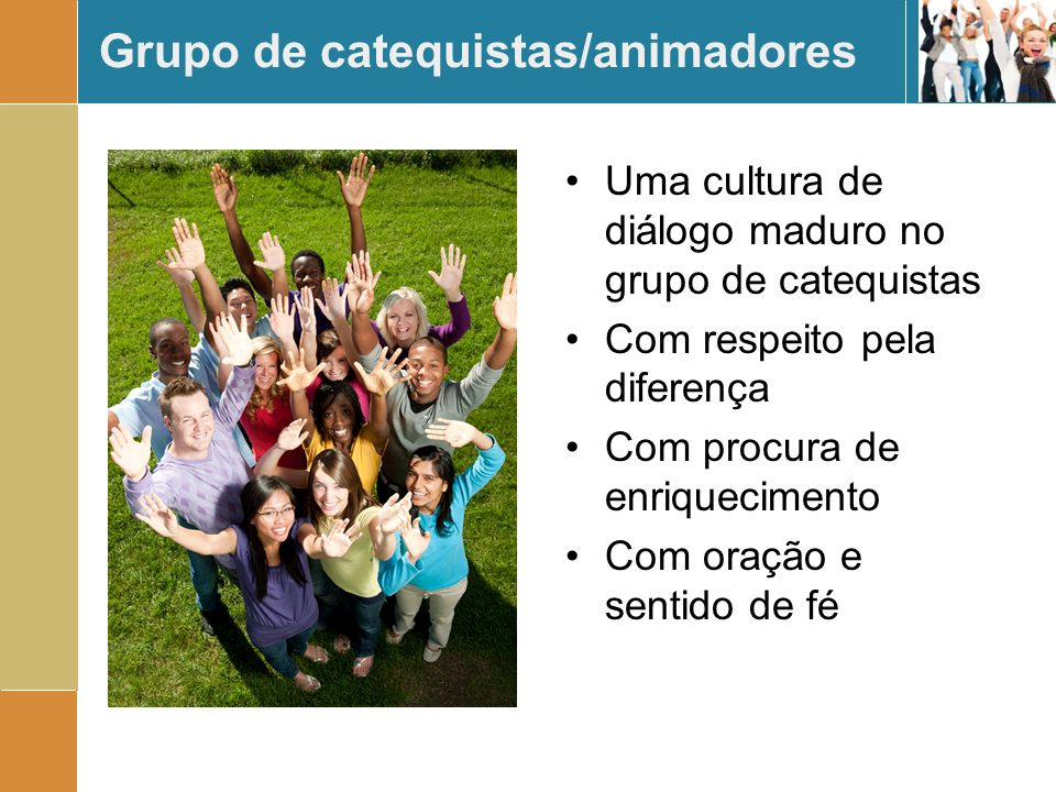 Grupo de catequistas/animadores