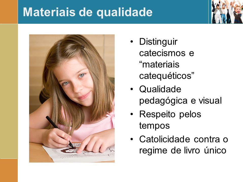 Materiais de qualidade