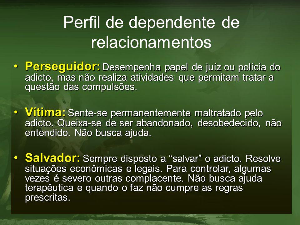 Perfil de dependente de relacionamentos