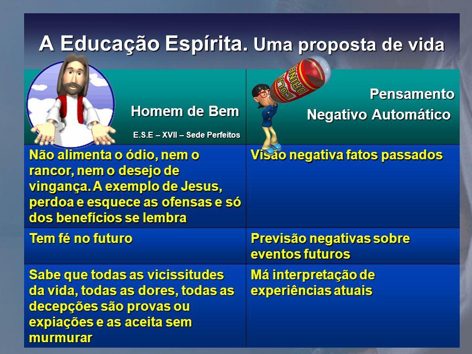 A Educação Espírita. Uma proposta de vida