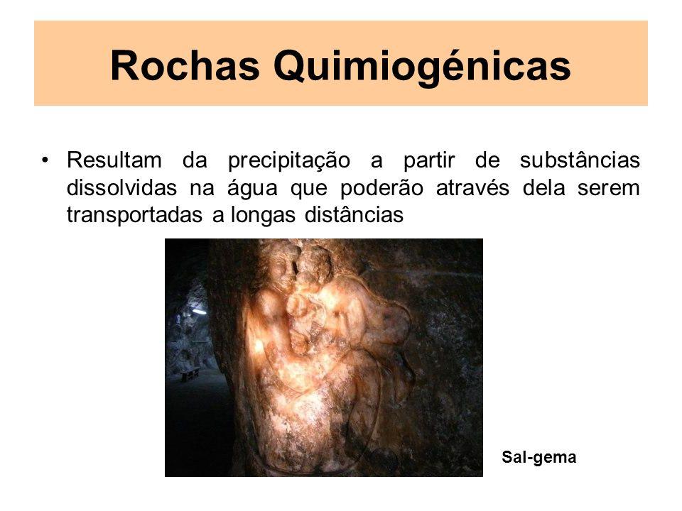 Rochas Quimiogénicas