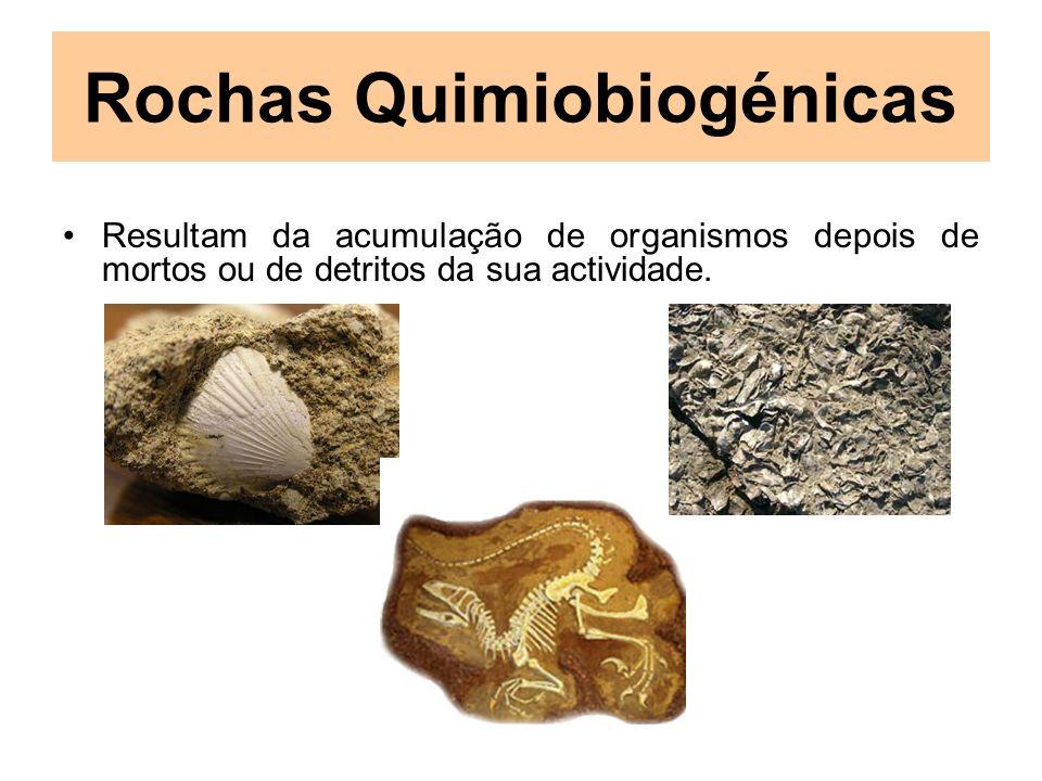 Rochas Quimiobiogénicas