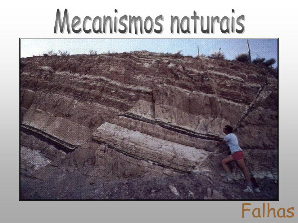Mecanismos naturais Falhas