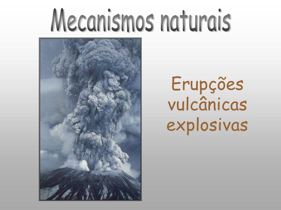 Erupções vulcânicas explosivas