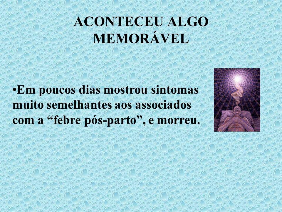 ACONTECEU ALGO MEMORÁVEL