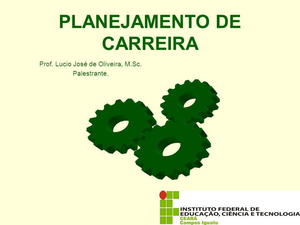 PLANEJAMENTO DE CARREIRA