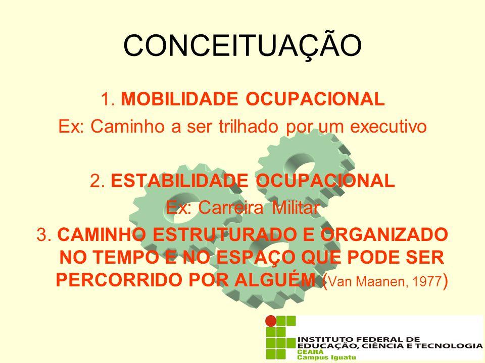 CONCEITUAÇÃO 1. MOBILIDADE OCUPACIONAL