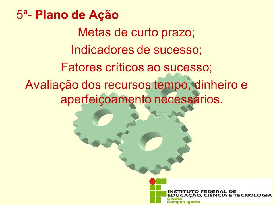 Indicadores de sucesso; Fatores críticos ao sucesso;
