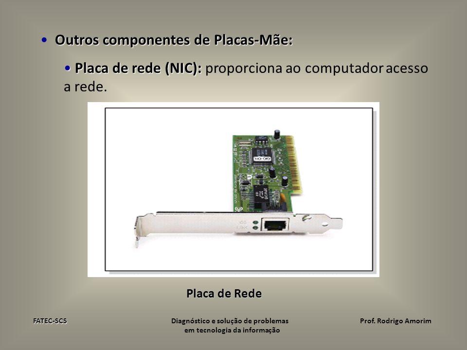 Outros componentes de Placas-Mãe: