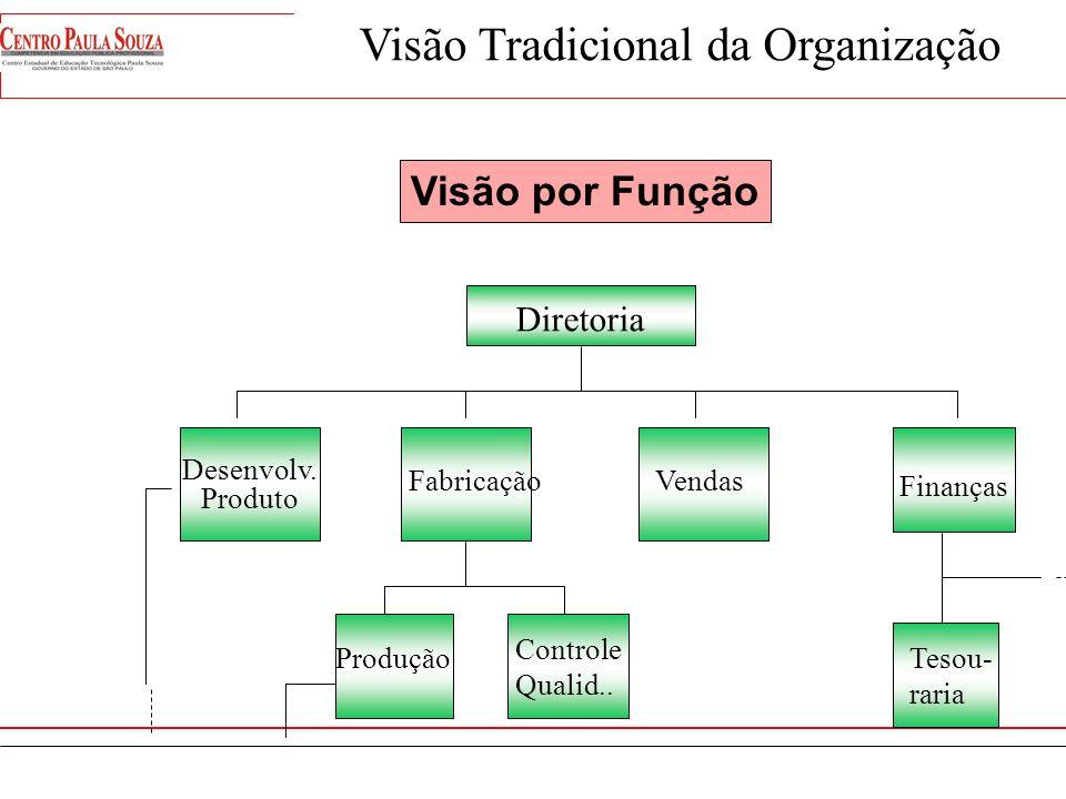Visão Tradicional da Organização